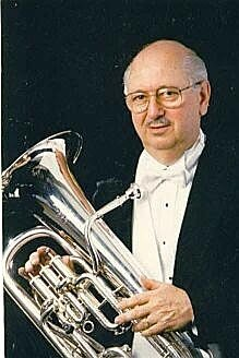 Dr. Earle Louder, noted euphonium soloist and teacher. Former soloist with The United States Navy Band in Washington, D.C.