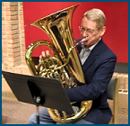 Dave Werden playing EE-flat Tuba