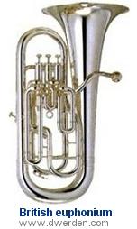 Brass Baritone Horn Wide Varieties Musical Instruments & Gear